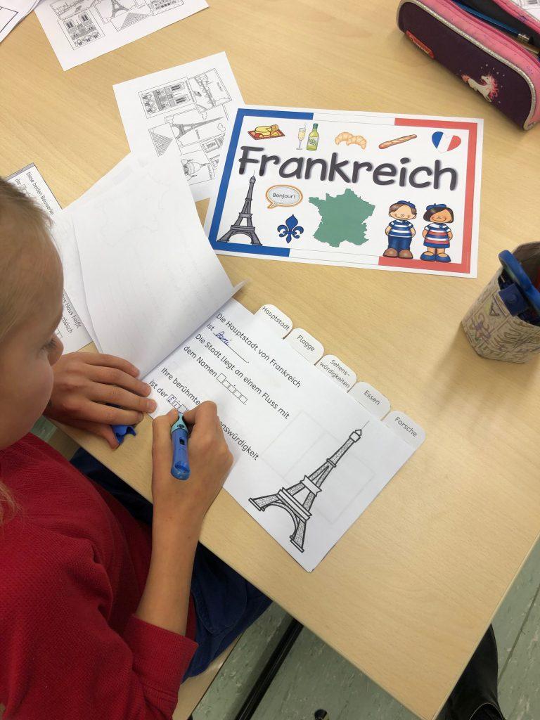 Deutsch Französischer Tag, Montessorischuel Beuren