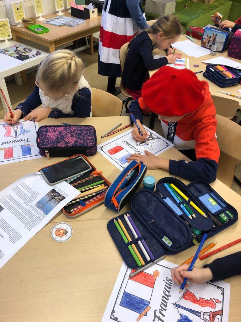 Deutsch Französischer Tag Montessorischule Beuren