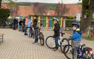 Montessorischule Beuren, Fahrrad